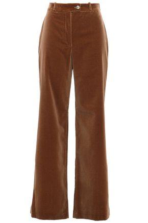 ACNE STUDIOS Cotton-velvet wide-leg pants