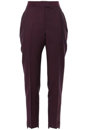 ACNE STUDIOS Mohair and wool-blend tapered pants