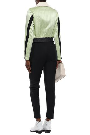 ACNE STUDIOS Wool and mohair-blend tapered pants