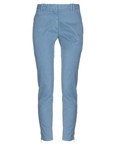 Фото - Повседневные брюки от ELEVENTY грифельно-синего цвета