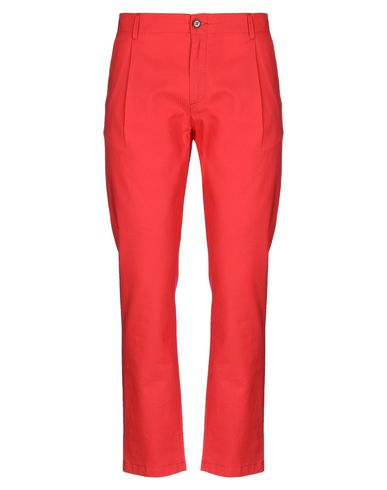 Купить Повседневные брюки от INDIVIDUAL красного цвета