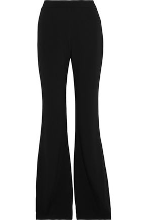 BRANDON MAXWELL Stretch-crepe flared pants