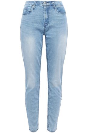 7 FOR ALL MANKIND High-rise slim-leg jeans