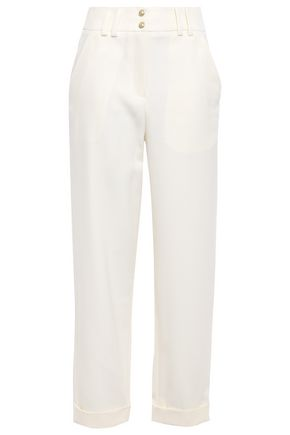 BALMAIN Wool straight-leg pants