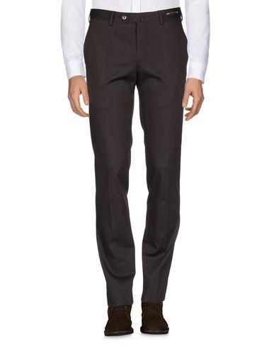 Фото 2 - Повседневные брюки от PT01 темно-коричневого цвета