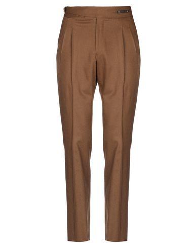 Фото - Повседневные брюки от PT01 коричневого цвета