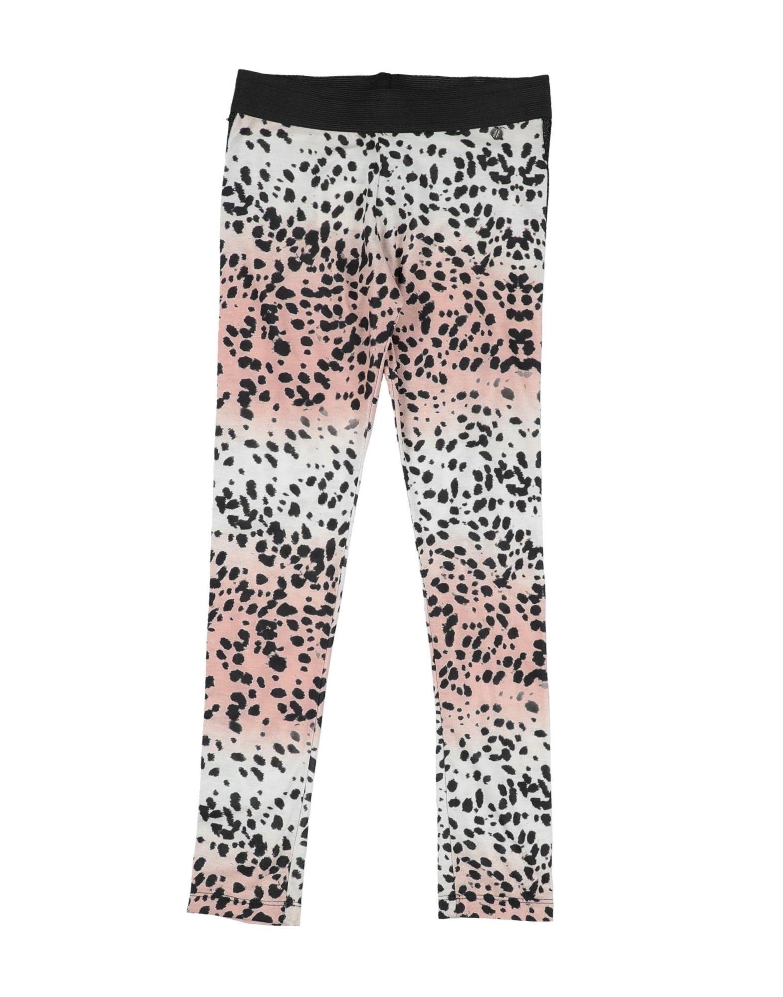 Vittoria Kids' Casual Pants In Animal Print