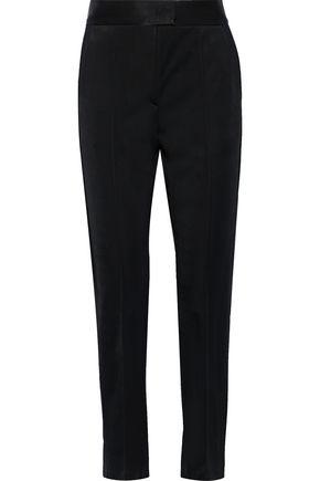 MSGM Sateen slim-leg pants