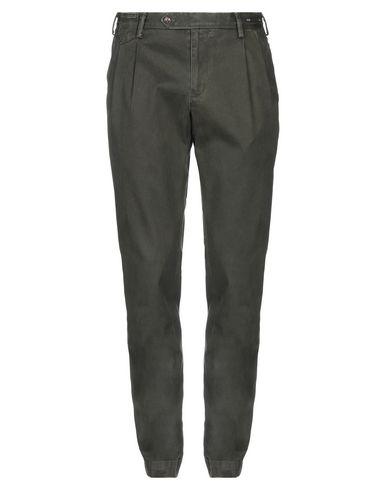 Фото - Повседневные брюки от PT01 темно-зеленого цвета