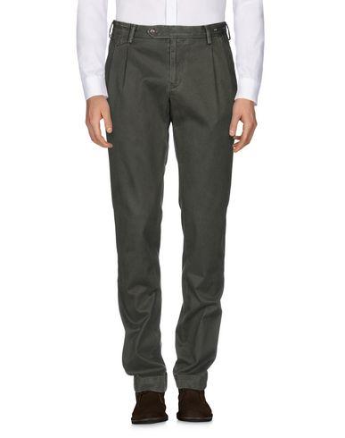 Фото 2 - Повседневные брюки от PT01 темно-зеленого цвета