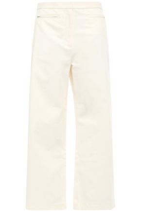 ALEXANDERWANG.T Cropped cotton-blend wide leg pants