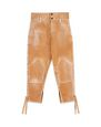 LANVIN Pants Man CANVAS PANTS WITH RIBBONS f