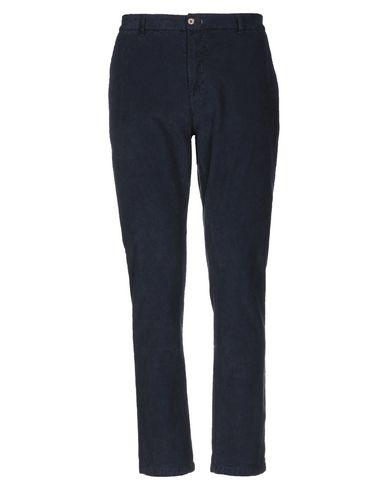 Фото - Повседневные брюки от INDIVIDUAL темно-синего цвета