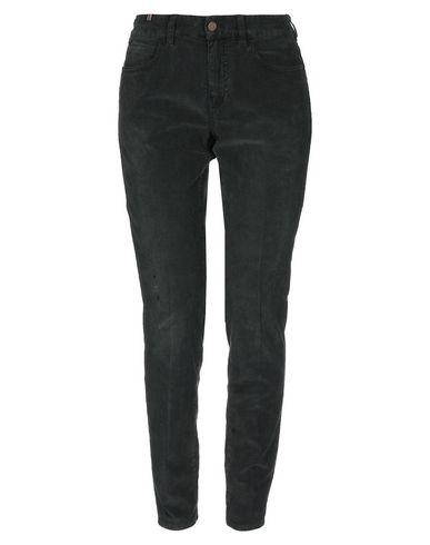 Фото - Повседневные брюки от ATELIER NOTIFY темно-зеленого цвета