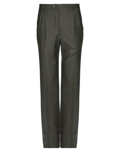 Фото - Повседневные брюки от JASPER REED цвет зеленый-милитари
