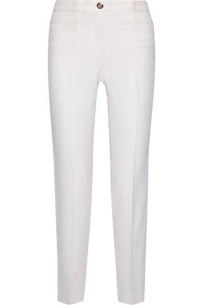VERSACE Silk-cady slim-leg pants