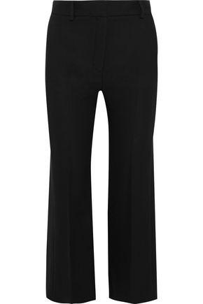 VERSACE Silk-crepe kick-flare pants