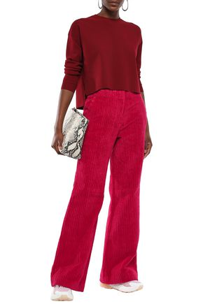 ACNE STUDIOS Cotton-corduroy wide-leg pants