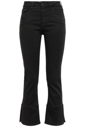 FRAME High-rise kick-flare jeans