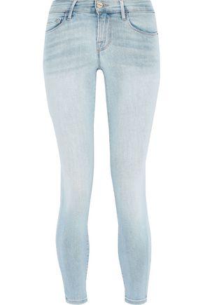 FRAME Le Skinny de Jeanne cropped low-rise skinny jeans
