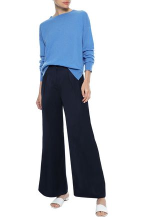 IRIS & INK Kervin canvas wide-leg pants