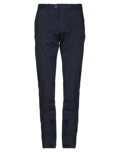 Фото - Повседневные брюки от MAESTRAMI темно-синего цвета