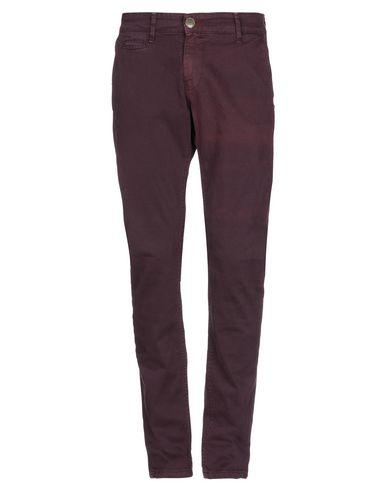 Фото - Повседневные брюки от DISPLAJ красно-коричневого цвета