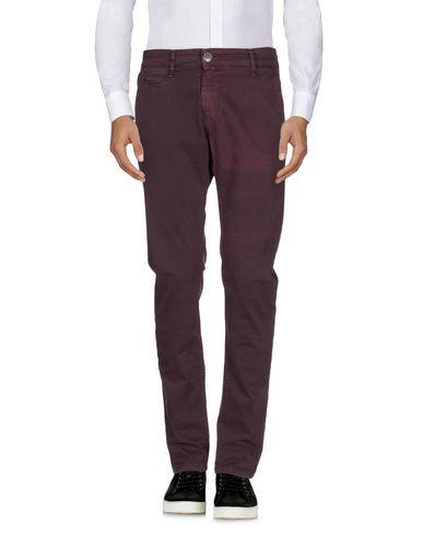 Фото 2 - Повседневные брюки от DISPLAJ красно-коричневого цвета