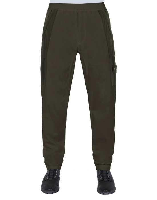 Sold out - STONE ISLAND 312F2 GHOST PIECE Pants Man Military Green