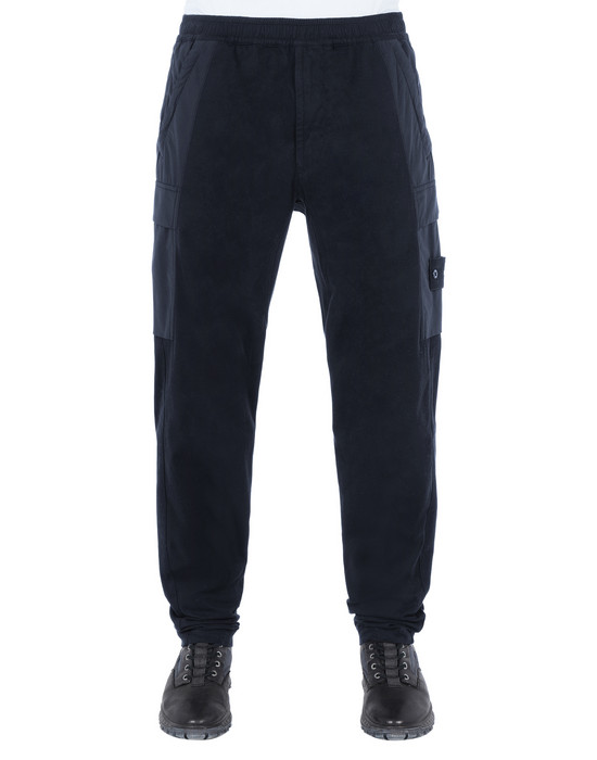 Sold out - STONE ISLAND 312F2 GHOST PIECE Pants Man Blue