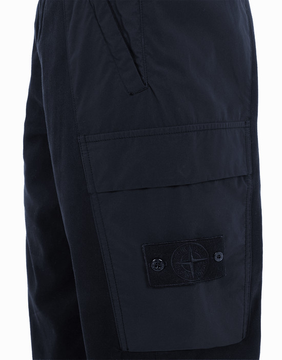13357277fc - TROUSERS - 5 POCKETS STONE ISLAND