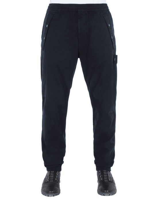 Sold out - STONE ISLAND 324F2 GHOST PIECE Pants Man Blue
