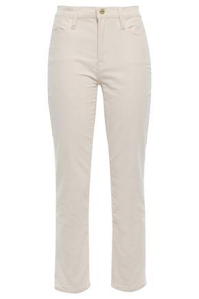 FRAME Cotton-blend corduroy straight-leg pants