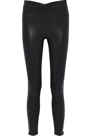 FRAME Leather leggings