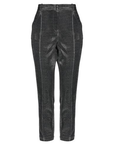 Фото - Повседневные брюки от MY TWIN TWINSET серебристого цвета