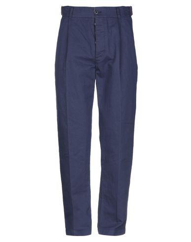 Фото - Повседневные брюки от MANIFATTURA CECCARELLI темно-синего цвета