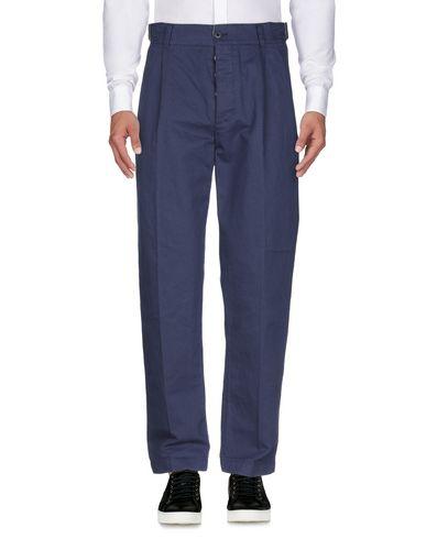 Фото 2 - Повседневные брюки от MANIFATTURA CECCARELLI темно-синего цвета