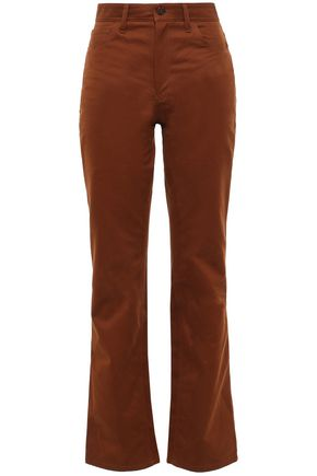ACNE STUDIOS Cotton-twill straight-leg pants