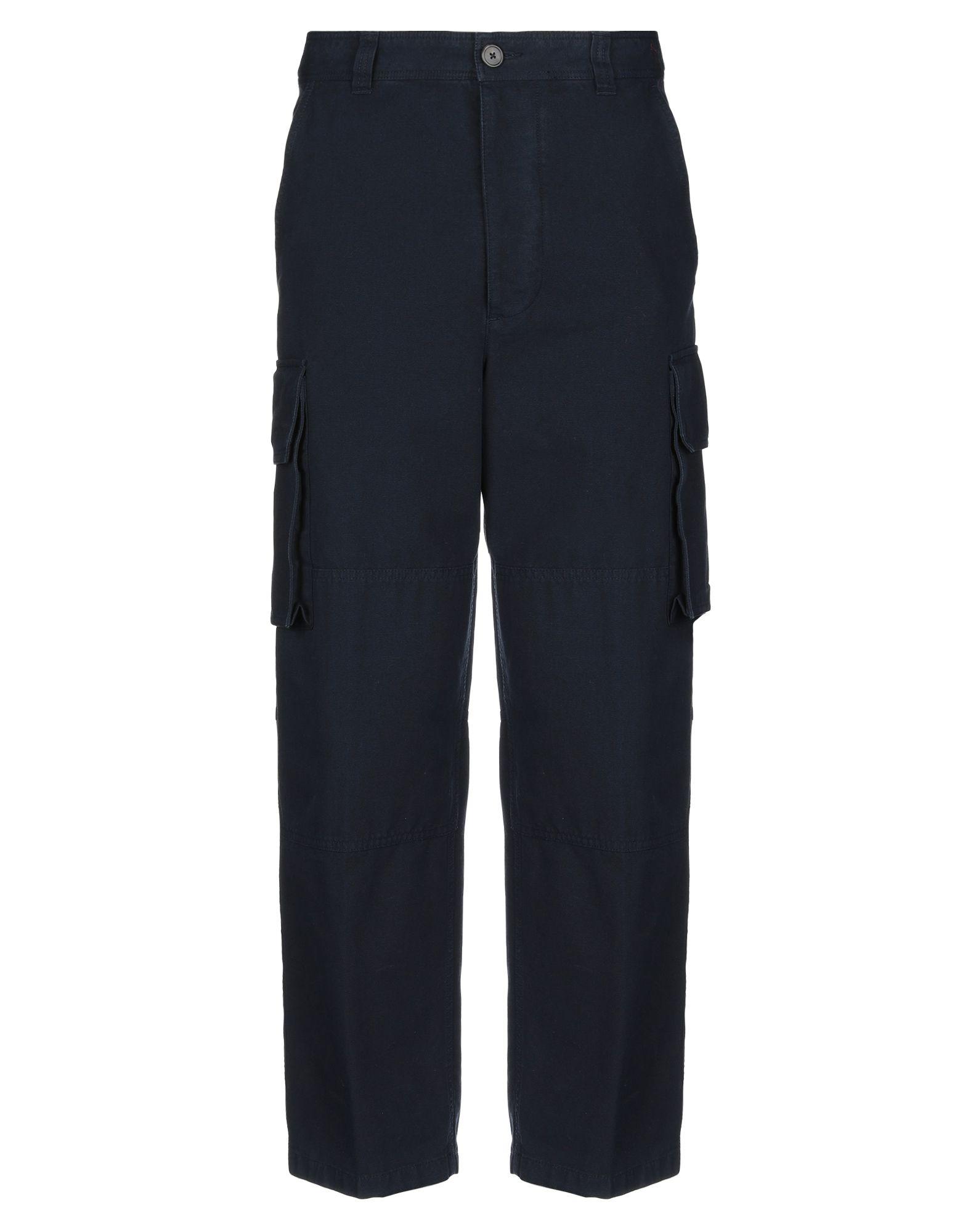 《期間限定セール開催中!》AMI ALEXANDRE MATTIUSSI メンズ パンツ ダークブルー L コットン 100%