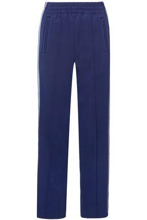 MARC JACOBS Jacquard-trimmed ponte straight-leg pants