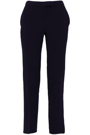 BA&SH Steady textured-crepe slim-leg pants