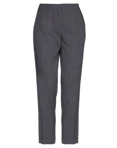 Фото - Повседневные брюки от BIANCOGHIACCIO темно-синего цвета