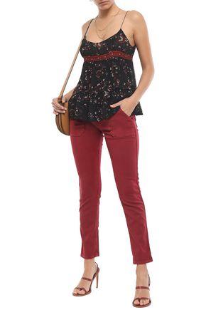 BA&SH Sally mid-rise slim-leg jeans