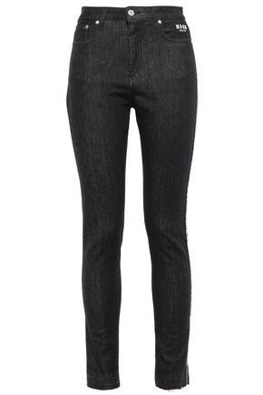 MSGM High-rise skinny jeans