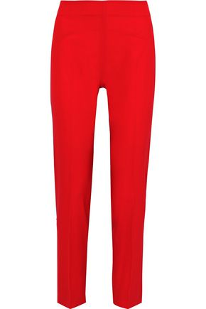ANTONIO BERARDI Wool-blend slim-leg pants