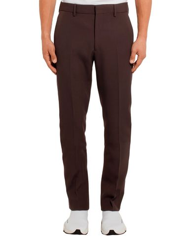 Фото 2 - Повседневные брюки темно-коричневого цвета