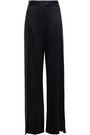 MICHELLE MASON Split-side silk-charmeuse wide-leg pants
