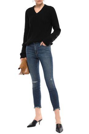 NWT J Brand Mid Rise Super Skinny Black Coated /'/'Leather/'/' Like Jeans Pants $228