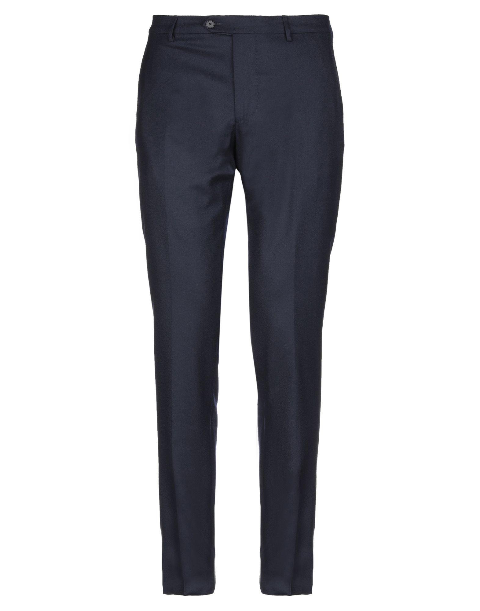 《セール開催中》BERWICH メンズ パンツ ダークブルー 54 ウール 100%