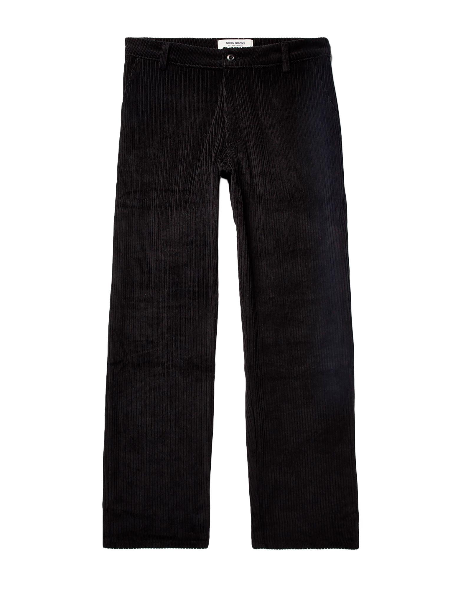 《セール開催中》NOON GOONS メンズ パンツ ブラック 34 コットン 100%